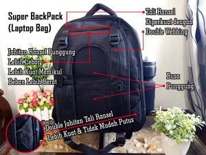 Tas Backpack Laptop